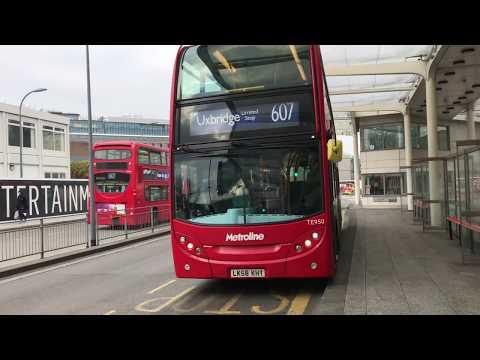 *Express Bus* London Route 607 - Enviro 400 Metroline TE950