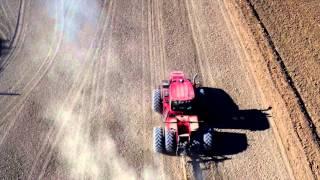 Rice Field Work: Sky View