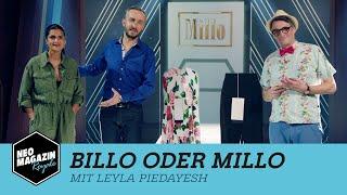 Billo oder Millo mit Leyla Piedayesh   NEO MAGAZIN ROYALE mit Jan Böhmermann -  ZDFneo
