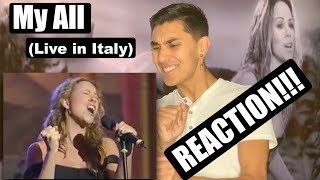 My All (Live in Italy) [REACTION] - Mariah Carey