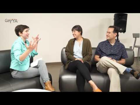 GayYA Interview - Vee sits down with David Levithan & Nina LaCour