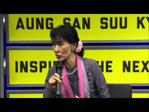 Aung San Suu Kyi on Human Rights-Friendly Business in Myanmar (Burma)