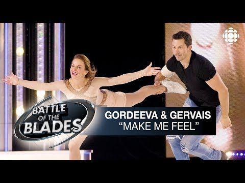 Ekaterina Gordeeva And Bruno Gervais Perform To Make Me Feel By Janelle Monáe | Battle Of The Blades