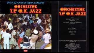 """Orchestre T.P. O.K. Jazz Live Chez """"Un-Deux-Trois"""" A Kinshasa (1977)"""