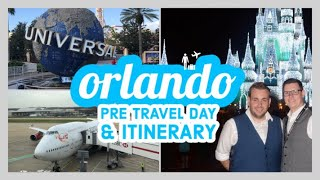FLORIDA VLOG: Pre Travel Day & Itinerary 2018