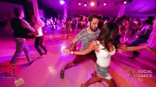 Pako & Anastasia - Salsa social dancing at the 2018 The Third Front Salsa Festival