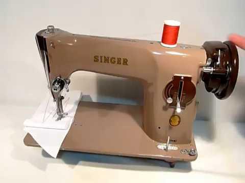 40 SINGER 40k Mk40 Vintage Sewing Machine Effortless Sewing With Gorgeous 1955 Singer Sewing Machine Value