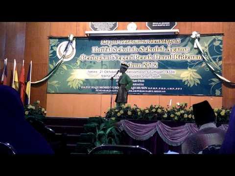 Johan Pertandingan Bercerita Mtq Peringkat Negeri Perak 2012 Youtube