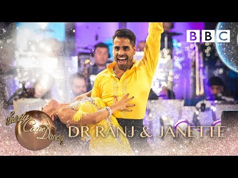 Dr Ranj Singh & Janette Manrara dance the Cha Cha to How Will I Know - BBC Strictly 2018