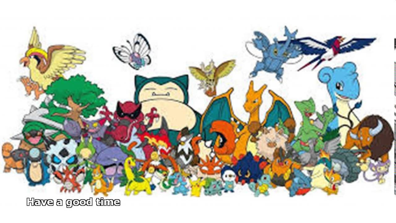 Every Pokemon In The World