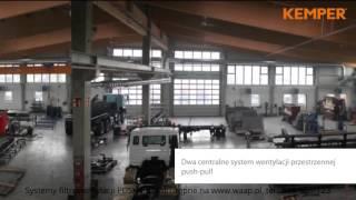Wentylacja przemysłowa System Push-Pull Kemper www.waap.pl