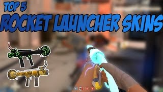 Top 5 Weapon skins in TF2 #1 - Top 5 Rocket Launcher Skins