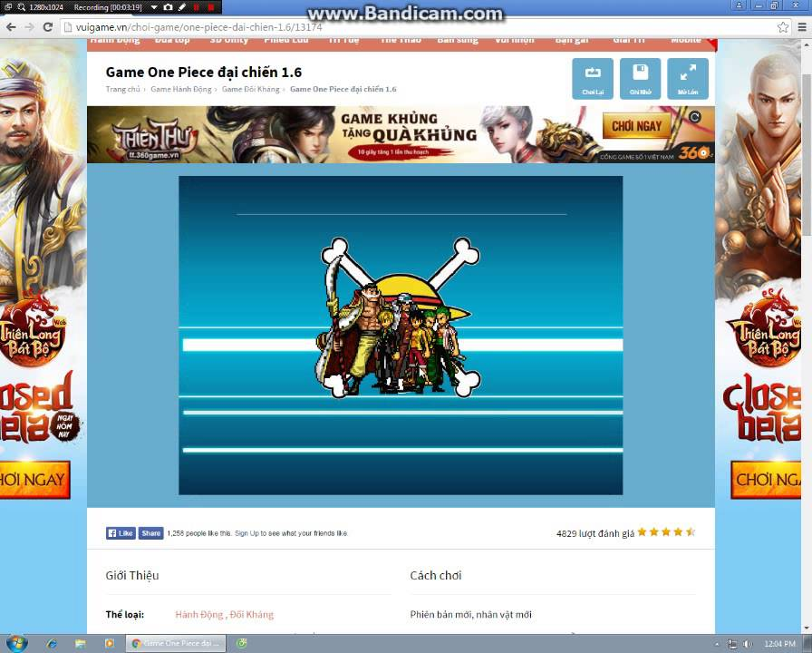 Game One Piece Đại Chiến 1.6 Past 2 - YouTube