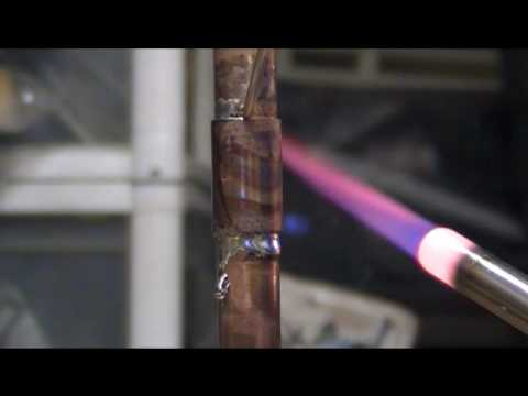 Sweating Welding A Vertial Copper Pipe - Youtube