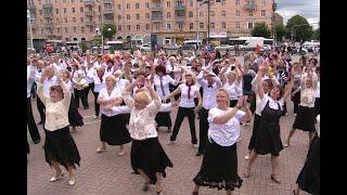 Флешмоб «Зумба Голд» объединил танцоров старшего поколения