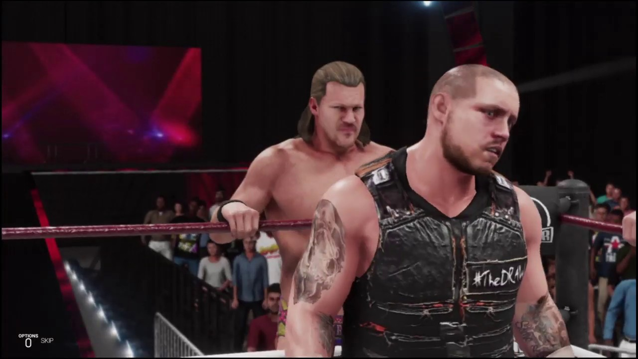 WWE 2K19 Jericho / Elias / Sami Callihan vs Jay Lethal / Alex Shelley / Chris Sabin