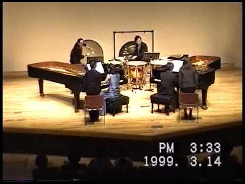 バルトーク 2台ピアノと打楽器のためのソナタ Béla Bartók:Sonata for ...