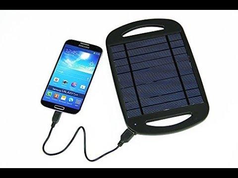 panneau solaire pour charger portable