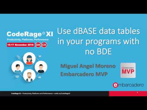 Access DBase Data In Your Programs With No BDE With Miguel Angel Moreno