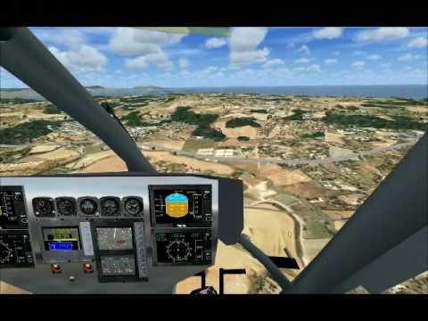 FSX EC-135 DU SAMU-13 - Pilotage et Vidéo de BOUBA-57