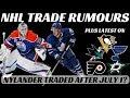 NHL Trade Rumours - Nylander, Pens, Flyers, Oilers & Stars