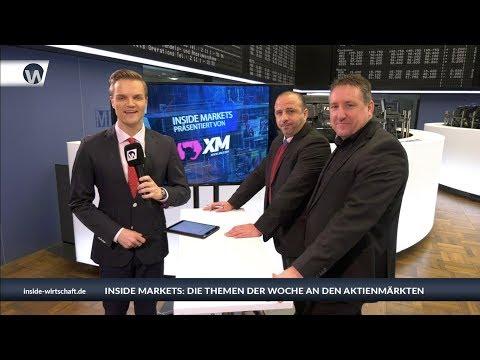 XM Inside Markets: Die XM-Titanen streiten über Dax, Gold und Währungen