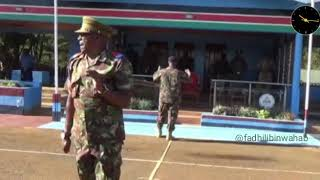 When your request is denied on parade   .. sema kimeumana