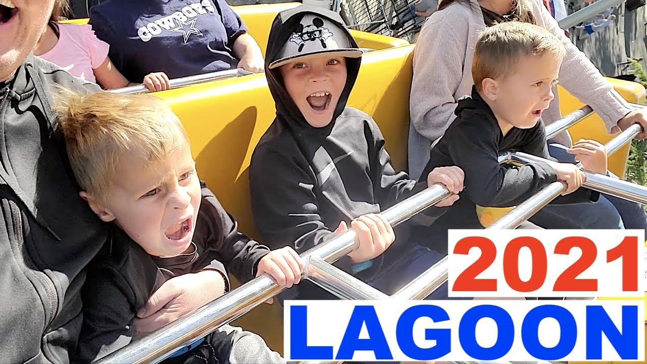 Download BEST RIDES at LAGOON AMUSEMENT PARK 2021!