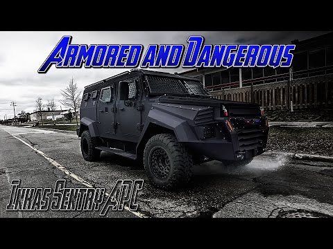 Top Secret Military Vehicle: Inkas Sentry APC - Armored and Dangerous !
