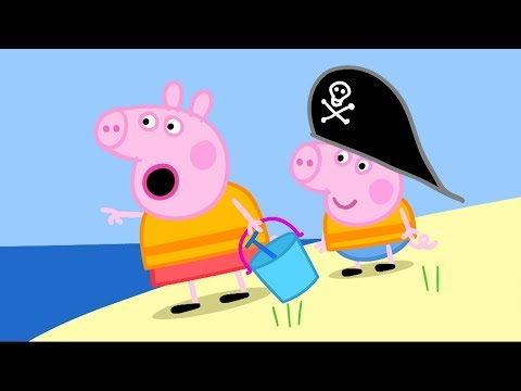 Peppa Pig em Português | A Ilha do Pirata | Compilação de episódios | Desenhos Animados #PPBP2018