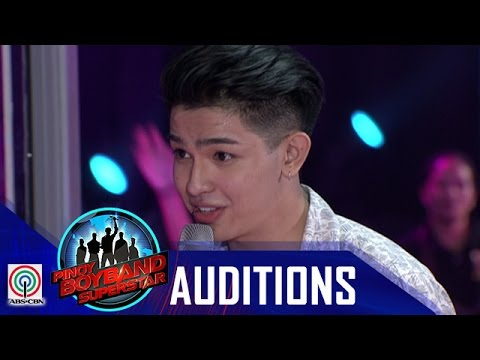 "Pinoy Boyband Superstar Judges' Auditions: Joao Constancia – ""Grow Old With You"""