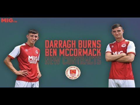Burns & McCormack Sign New Professional Contracts