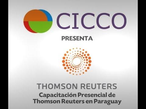 "Resumen de Capacitacion de ""Thomson Reuters"" en Paraguay"