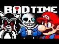 СОНИК EXE САНС МАРИО СУПЕР BAD TIME ВСЕ СРАЗУ Undertale Megalofee Fight mp3