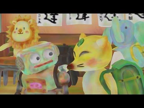 手描き風CGアニメ映画『ロボスケと友達』 HD Full Movie