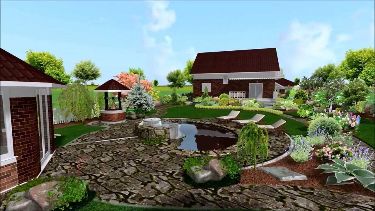 ландшафтный дизайн дачного участка 15 соток фото готовый проект 3