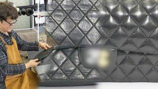 낡은 가방이 새 가방으로 '명품 수선 달인' @생활의 …