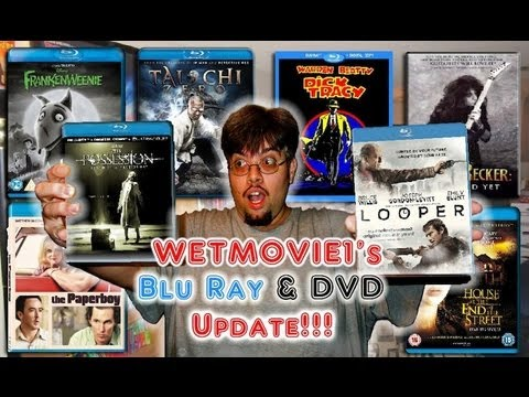 My Blu-Ray Collection Update 1/11/13 Blu ray and Dvd Movie Reviews