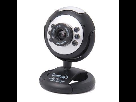 Unboxing Review Quantum 495  webcam (tamil)
