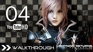 Lightning Returns Final Fantasy XIII Walkthrough Gameplay English Dub - Part 4 Find the Pass Code