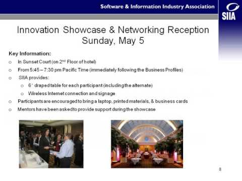 2013 SIIA Ed Tech Industry Summit Innovation Incubator Orientation