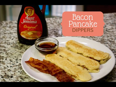 How to make bacon pancake dippers youtube how to make bacon pancake dippers ccuart Gallery