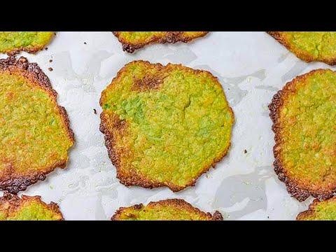 Keto Recipe Avocado Chips Low Carb Potato Crisps ALternative (Healthy & Delicious)