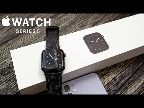 Apple Watch Series 5 Unboxing, Setup & Custom Watch Bands!