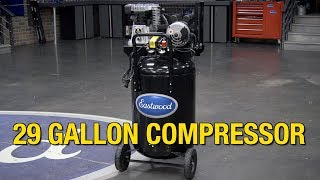 Eastwood 29 Gallon Air Compressor - Great Compressor for the Home Garage - Eastwood