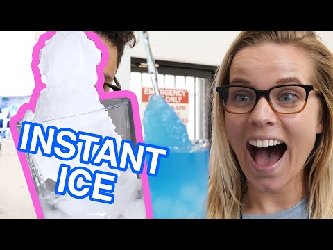 The Science Of Instant Ice