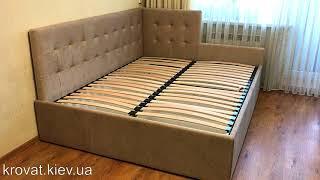 Кровать с обрезанной спинкой на заказ
