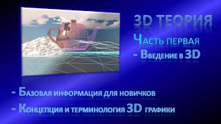 Теория 3D Графики, урок 01 - Введение в 3D Графику