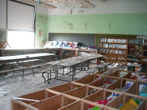 Abandoned Madison School in Youngstown, Ohio