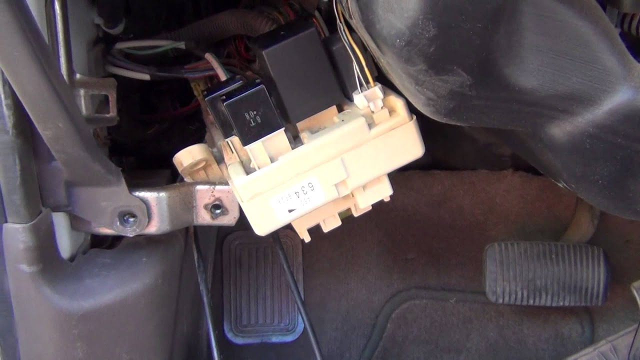 2004 wrangler fuse box diagram 3rd generation toyota 4runner flasher replacement youtube  3rd generation toyota 4runner flasher replacement youtube